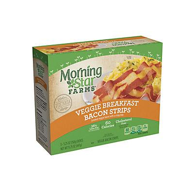 MorningStar Farms Veggie Breakfast Bacon Strips, 3 pk./5.25 oz.