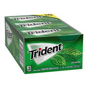 Trident Spearmint Sugar-Free Gum, 15 pk./14 ct.