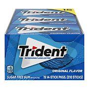 Trident Original Sugar-Free Gum, 15 pk./14 ct.