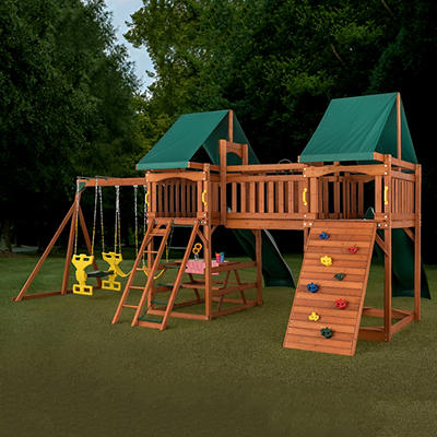 Creative Cedar Designs Sequoia Wooden Play Set