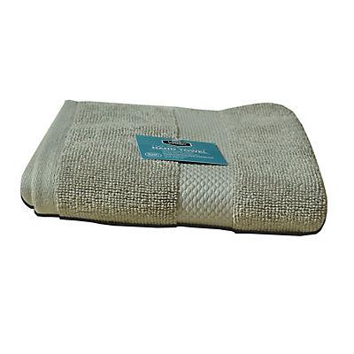 Berkley Jensen Hand Towel - Light Gray
