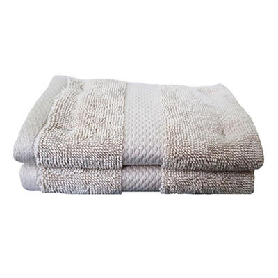 Berkley Jensen Washcloth, 2 pk. - Linen
