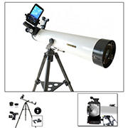 Cassini 800mm x 80mm Astronomical Telescope with Smartphone Adapter