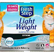 Fresh Step Lightweight Extreme Cat Litter, 25.8 lbs.