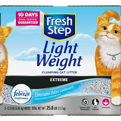 Fresh Step Lightweight Extreme Cat Litter, 25.8 lbs.