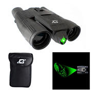 Cassini 10x 32mm Green Laser Day/Night Binoculars with Case