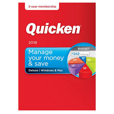 Quicken Deluxe 2018, 2 Years