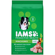 IAMS Proactive Health MiniChunks Dog Food, 15 lbs.