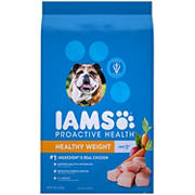 Pedigree Iams ProActive Health Adult Weight Control Dry Dog Food, 15 lbs.