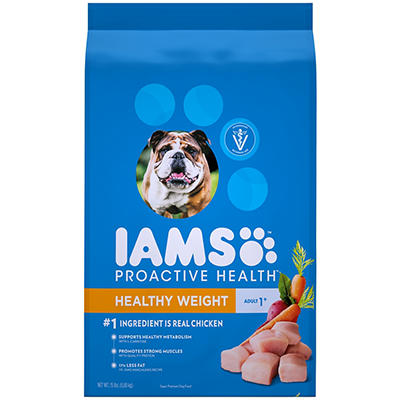 Pedigree Iams ProActive Health Adult Weight Control Dry Dog Food, 15 l
