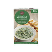 Wellsley Farms Spinach and Artichoke Four Cheese Dip, 2 pk./16 oz.