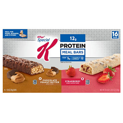 Special K Protein Meal Bars Variety Pack, 16 ct./1.59 oz.
