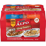 Purina Alpo Gravy Cravers Variety Pack Dog Food, 24 pk./13.2 oz.
