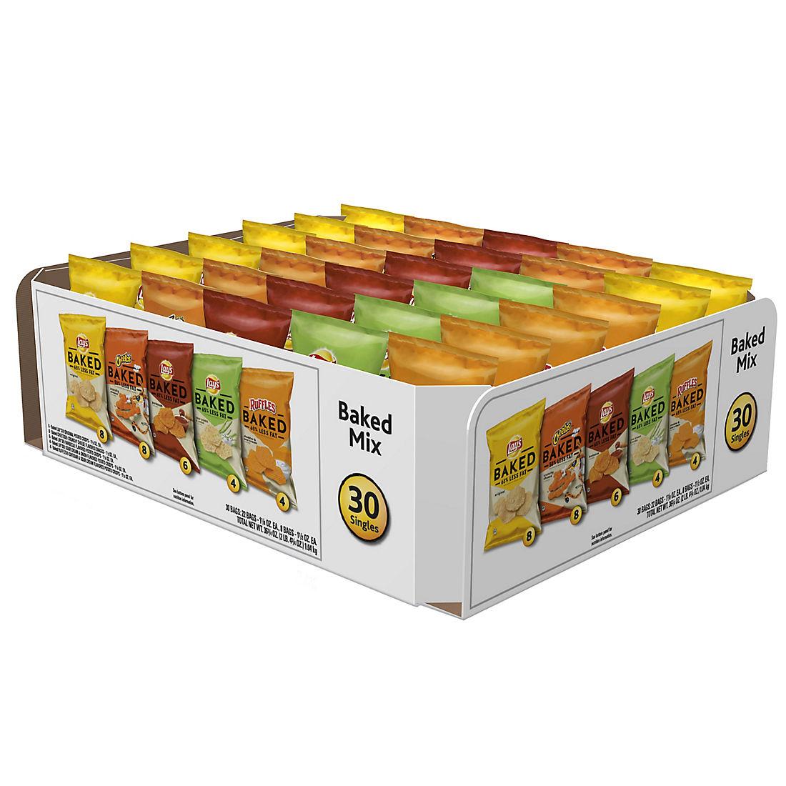 Frito Lay Baked Mix Variety Pack, 30 pk