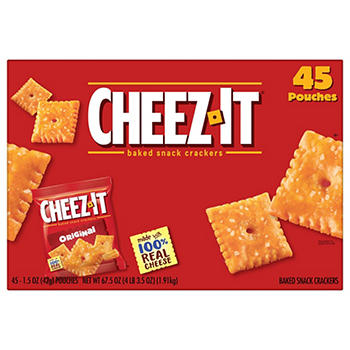 Cheez-It Crackers Individual Pouches