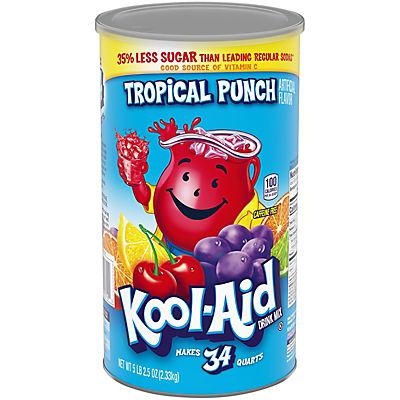 Kool-Aid Tropical Punch, 34 qt.