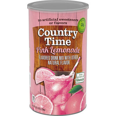 Country Time Pink Lemonade Drink Mix, 82.5 oz.
