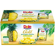 Dole Pineapple Chunks, 6 pk./20 oz.