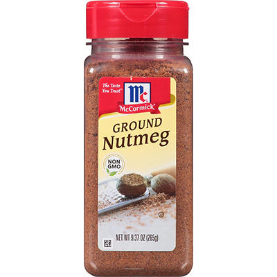 McCormick Ground Nutmeg, 9.37 oz.
