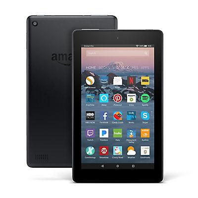 "Amazon Fire 7"" Tablet with Alexa, 8GB Memory"