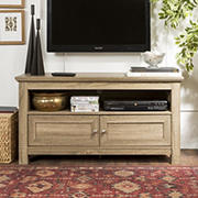 "W. Trends 44"" Transitional Wood TV Stand for Most TV's up to 50"" - Driftwood"