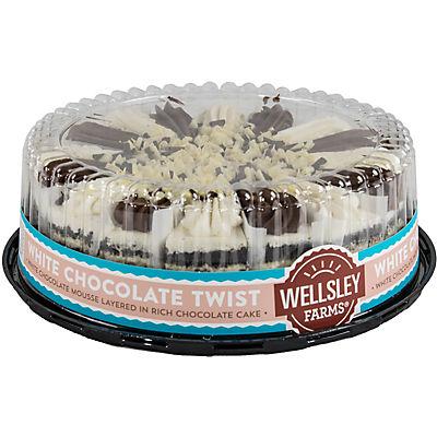 "Wellsley Farms 10"" White Chocolate Twist Cake"
