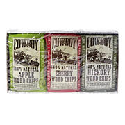 Cowboy Variety Wood Chips, 3 pk./ 180 cu. in.