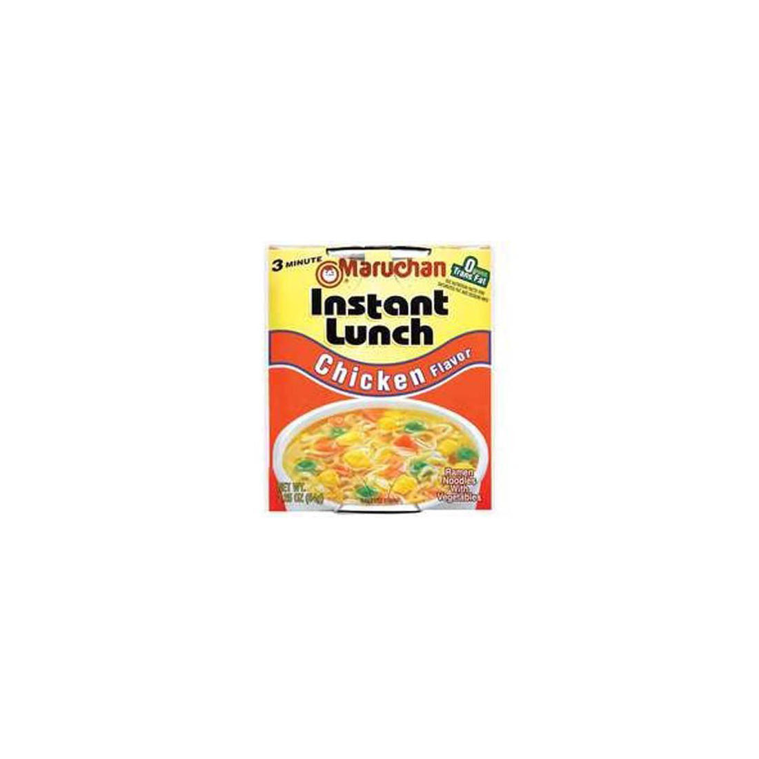 Maruchan Instant Lunch Chicken Flavored Noodle Bowls, 24 ct