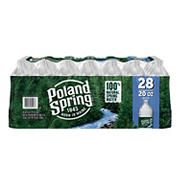 Poland Spring 100% Natural Spring Water, Deposit, 28 pk./20 oz.