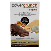 Power Crunch Protein Energy Bar Variety Pack, 18 ct.