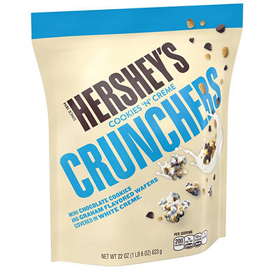 Hershey's Cookies 'N' Cream Crunchers, 22 oz.
