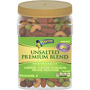 Planters Unsalted Premium Blend Mixed Nuts, 34.5 oz.