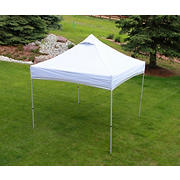 UnderCover 10' x 10' Easy Carry Leisure Canopy - White