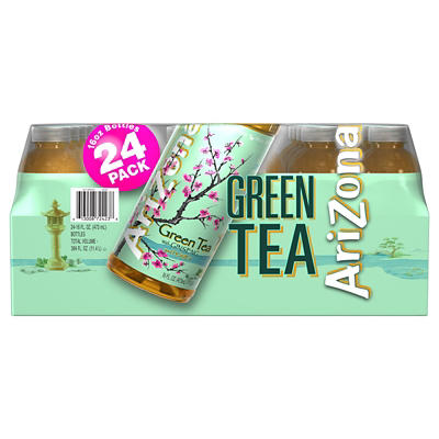Arizona Green Tea with Ginseng and Honey, 16 pk./24 oz.