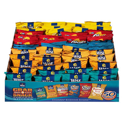 Wise Grab & Snack Variety Pack, 50 ct.