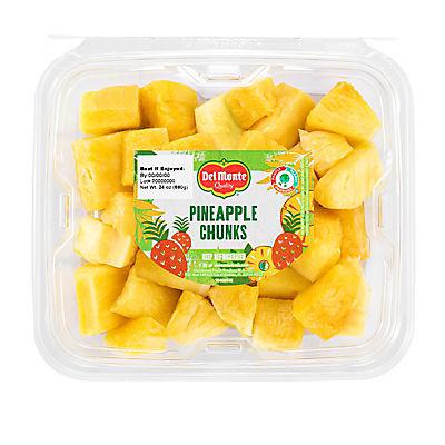 Fresh Cut Pineapple Spears, 24 oz.