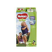 Huggies Little Movers Slip-On Diaper Pants, Size 4, 148 ct.