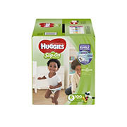 Huggies Little Movers Slip-On Diaper Pants, Size 6, 100 ct.