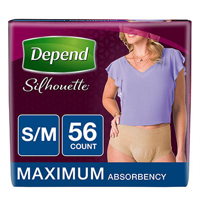 Depend Silhouette Incontinence Underwear for Women with Maximum Absorb