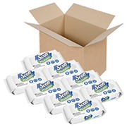 Scott Naturals Flushable 51-Sheet Cleansing Cloths Refill, 8 pk.