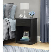 Ameriwood Home Core Nightstand - Black