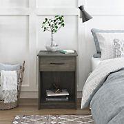 Ameriwood Home Core Nightstand - Weathered Oak