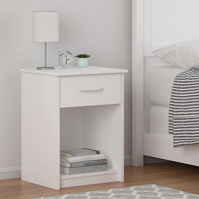 Ameriwood Home Core Nightstand - White