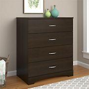 Ameriwood Home Crescent Point 4-Drawer Dresser - Espresso