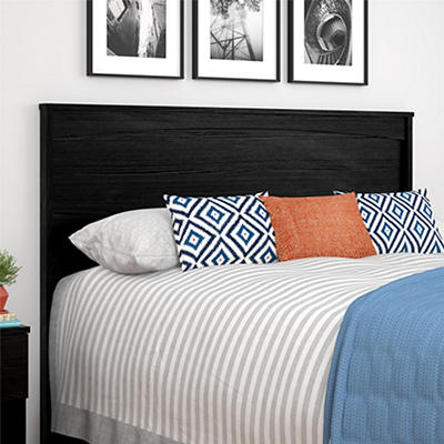 Ameriwood Home Crescent Point Full-Size Headboard - Black