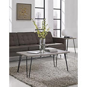 Ameriwood Home Owen Coffee Table - Distressed Gray