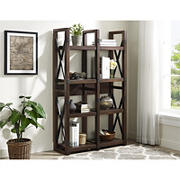 Ameriwood Home Wildwood Wood Veneer 8-Shelf Bookcase/Room Divider - Brown