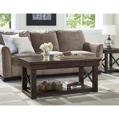 Ameriwood Home Wildwood Coffee Table - Espresso
