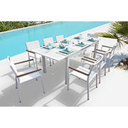 Bellini Home and Gardens Avallon 9-Pc. Outdoor Dining Set - White