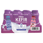 Lifeway Kefir Cultured Lowfat Milk Variety Pack, 12 pk./8 fl. oz.